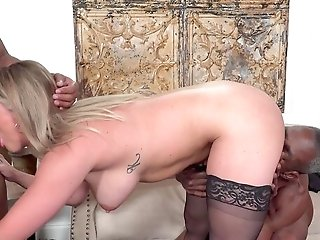 Rough Ass-fuck For The Subjugated Blonde In Severe Domination & Submission Hotwife