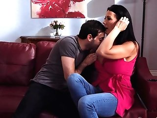 Special Moments Of Couch Porno With His Own Stepmom