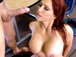 Huge-boobed Ginger-haired Educator