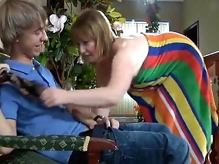 Exotic Homemade Clip With Cougar, Youthful/old Scenes