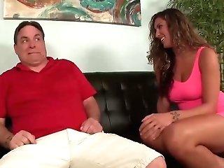 Horny Teenage Wanks Off A Matures Man