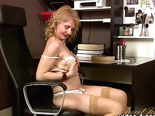 Finest Pornographic Star Lily Roma In Exotic Stockings, Getting Off Xxx Scene