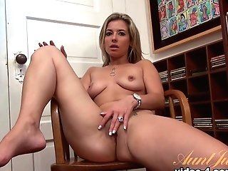 Horny Superstar Alana Luv In Exotic Blonde, Onanism Porno Movie