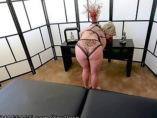 Fantasymassage Mummy Dee Williams Point Of View Squirt Rubdown