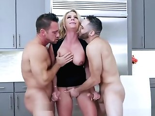 Big Dick Fuck Teenager Army Boy Meets Huge-chested