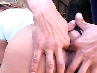 Outdoor Farm Intercourse With The Brilliant Wifey Who's Poon Is Soaking Raw