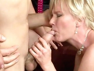 Nude Matures Fucked By Two Bi-curious-sexual Masculines