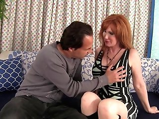 Gorgeous Sandy-haired Housewife Getting Her Trimmed Vagina Plunged Hard