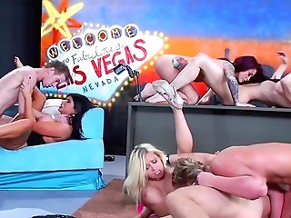 Group Pornography With A Few Honies In Love With Big Boners