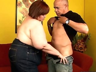 Sbbw Jezzebel Joli Is Fucked Hard By Hot Tempered Bald Headed Dude