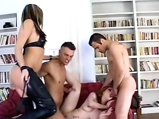 Best Adult Movie Star Courtney Cummz In Horny Sandy-haired, Group Fucky-fucky Adult Clip