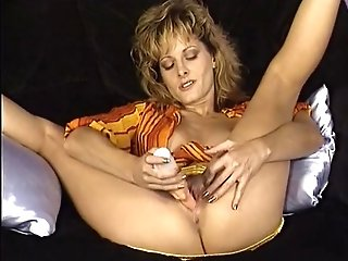 Cougar Is Playing With A Jokey Hitachi.