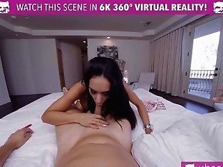 Hot Cherry Black-haired Honey Gets Orgasm