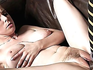 Interracial Shagging On The Sofa With Penny Pax And A Big Black Dick