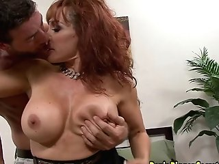 Red-haired Mummy Fucked On Her Big Bootie