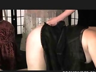 Matures Female Domination Spanking In Stockings