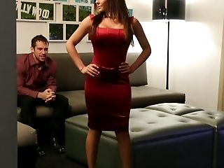 Lady In Crimson Gets Fucked