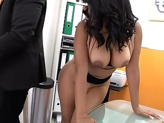 Huge-titted Latina Bomb Shell Nombre-sitio Fucks And Inhales Hard For Money