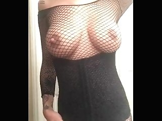 Mummy Dancing In Fishnets
