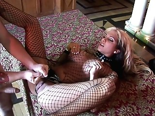 Sexy And Costumed Carmel Moore Adores Hook-up Games With A Friend