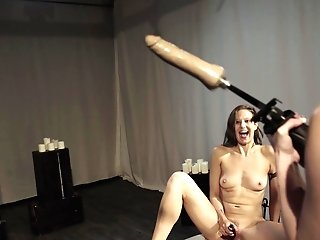 Pervy Matures Lezzies Violation Each Other With Fuck Machines