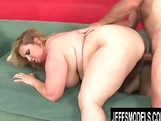 Jeffs Models - Well Gifted Bbw Nikky Wilder Doggystyle Compilation Two