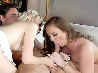 Lad Fucks Two Youthful Dolls Right In Their Fragile Butt Fuck Holes