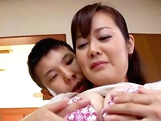 Sexual Delight For The Big-boobed Japanese Matures In Scenes Of Gonzo