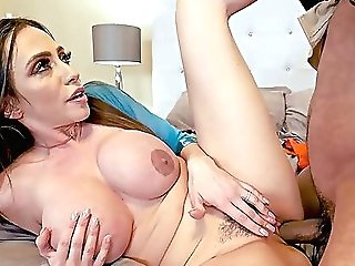 Mummy Rails Lad's Unending Big Black Cock In Superb Xxx At Home