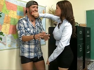 My Educator Letting Me Fuck Her