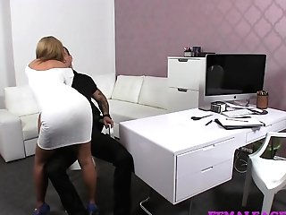 Femaleagent Skinny Stud Meets Experienced Mummy