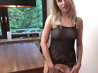 German Mommy I'd Like To Fuck Point Of View Anal Invasion