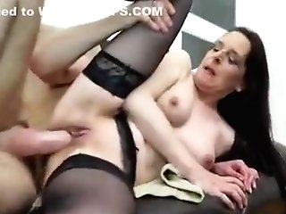 Crazy Homemade Clip With Assfuck, Stockings Scenes