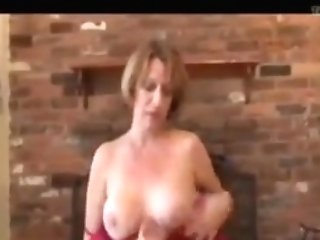 Mommy Gives Her Boy Loosening Tugjob