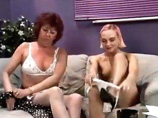 Fabulous Stockings, Red-haired Porno Clip