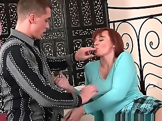Jizm Greedy Grandmother Takes A Fist-fuck And A Facial Cumshot