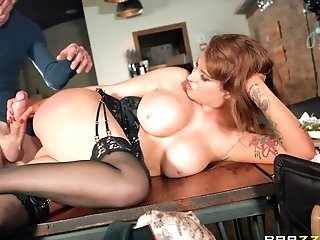 Chubby Matures Wifey Ashleigh Devere Pounded And Sprayed With Spunk