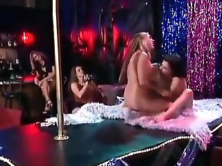 Strippers Catfight On Stage