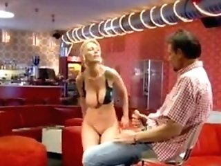 Charming German Cougar Hard Drilled In The Booty