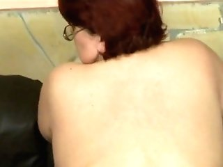 Sandy-haired Bbw Mom Fucked By Skinny Fellow