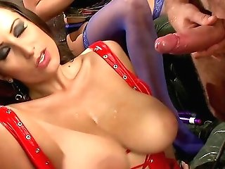 Muscular Man Fucks Four Dirty Cougars In A Crazy Xxx Have Fun