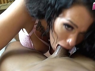Private Oral Pleasure With Jizm Drink From Mummy
