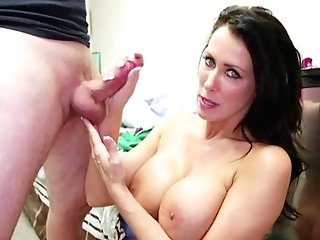 Premium Matures With Ample Boobies, Insane Point Of View Oral Tryout