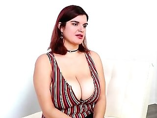 Nude Huge-chested Woman Gives The Best Hand Jobs