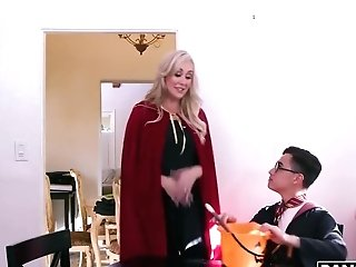 Kenzie Reeves And Brandi Love - Threesome Orgy With