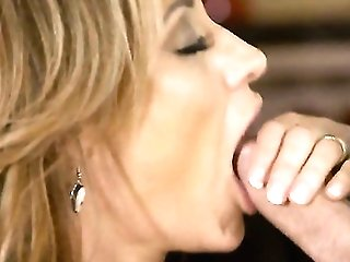 Blonde With Big Tits Gets A Fuck With Hot Bang Mate