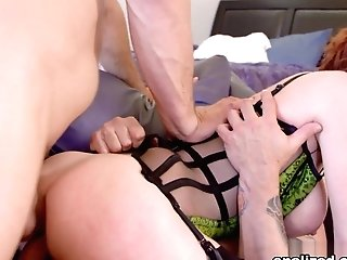 Veronica Avluv's Dual Ass-fuck Torment - Analized