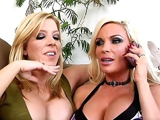 Crazy Pornographic Stars Gina Lynn And Lexi Lamour In Best Facial Cumshot, Blonde Pornography Movie