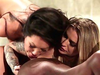Ana Foxxx & Asa Akira & Kleio Valentien In Takers, Scene Five - Wicked