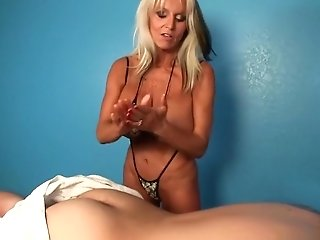 Sally D'angelo - Insatiable Masseuse